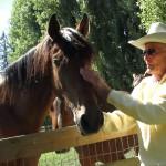 George on the farm